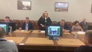 Ольга Миронова выступила на Совете руководителей профессиональных объединений риэлторов